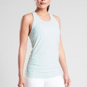 Athleta Speed Light Tank in Ethereal Blue